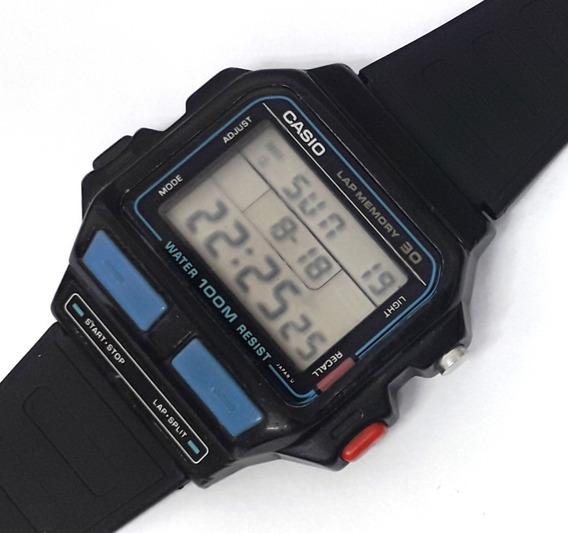 Relógio Casio Sdb-500w (lap Memory 30) Raridade Década De 90