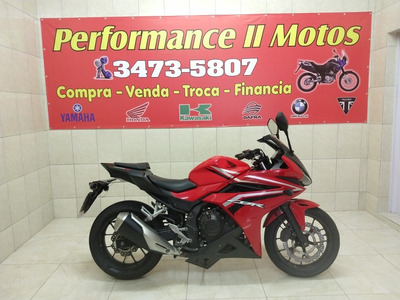 Honda Cbr 500 2018 Financiamos Ate 48x