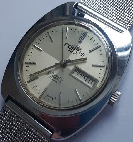 Relógio Fortis Vintage Automático Daydate