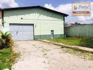 Galpão Para Alugar, 1000 M² Por R$ 10.000/mês - Chácara Lagoa Branca - Campo Limpo Paulista/sp - Ga0008