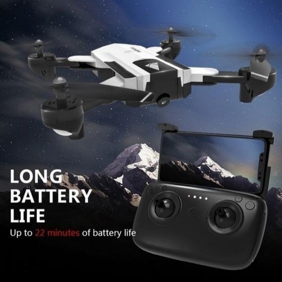 Drone Sg900 Branco E Preto Completo Com Kit Reserva
