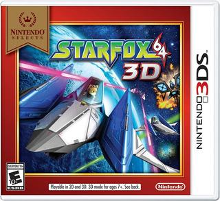 Starfox 64 3d Nuevo Y Sellado 3ds Entrega Ya