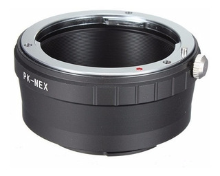 Adaptador Lente Pentax Pk A Sony Nex Montura E En Tienda