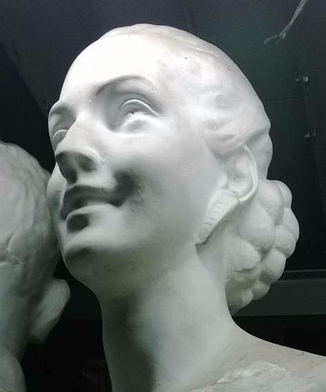 Bustos De Evita, Peron, Sarmiento, Proceres, 60cm