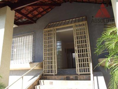 Casa Comercial Para Locação, Vila Santa Catarina, Americana. - Ca0754