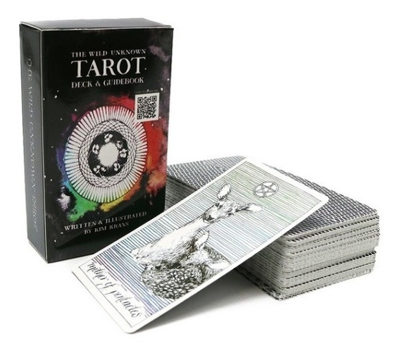 Cartas Do Tarô Selvagem - As Cartas Mágicas - Tarot Deck