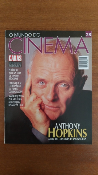 Revista O Mundo Do Cinema N° 28 Anthony Hopkins Caras