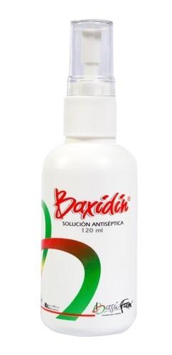 Baxidin Solucion Antiséptica Perros Gatos Heridas 120 Ml