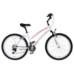 Bicicleta Fischer Fstar Aro 26 Feminina V-brake Branco Ih