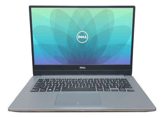 Notebook Ultrafino Dell 14-p74g Core I5 4gb Ssd 120gb Nvidia