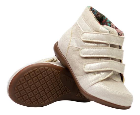 Tenis Feminino Infantil Menina Sneaker Botinha Barato Moda
