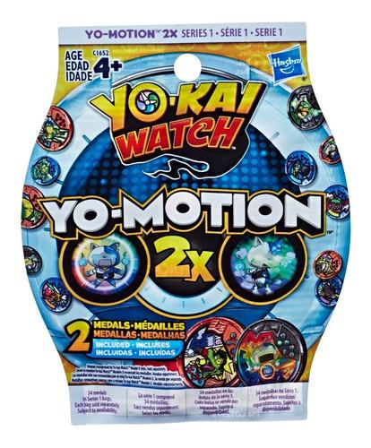 Yo Kai Watch Pack De Medallas Yo Motion X2