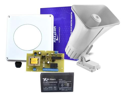 Alarma Vecinal V222 Hablada Irina Batería 200ms Display