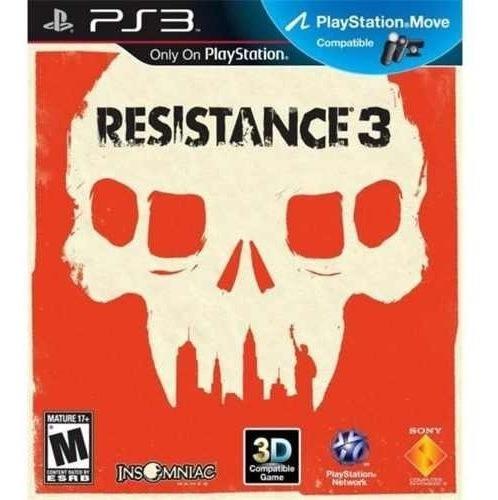 Resistance 3 Lacrado - Ps3