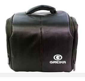 Bolsa Greika Zd-e5 Para Câmeras Nikon, Canon, Sony ...