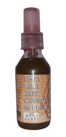Tinta Para Renovar Gamuza, Ante Y Nobuck + 1 Pincel