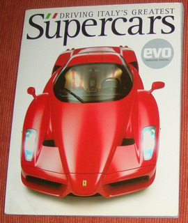Carros - Livro Revista Driving Italys Greatest Supercars