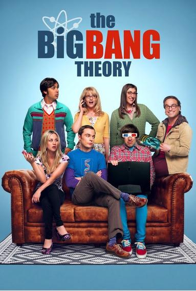 Big Bang: A Teoria (11ª E 12ª Temporada) E Frete Grátis