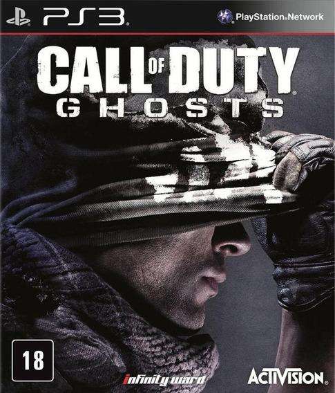 Jogo Call Of Duty Ghosts Playstation 3 - Mídia Física