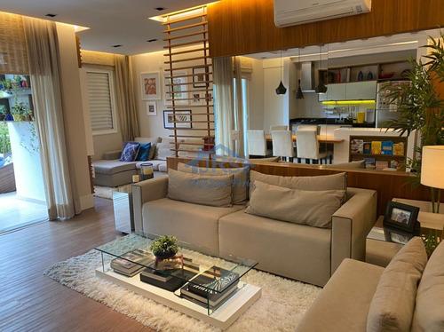 Apartamento Com 2 Dormitórios À Venda, 115 M² Por R$ 950.000,00 - Tamboré - Barueri/sp - Ap4216