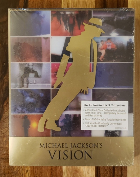 Michael Jackson Vision Dvd Deluxe