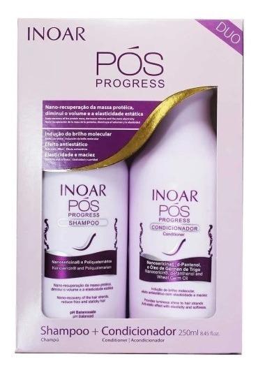 Kit Inoar Pós Progress Shampoo+condicionador -250ml