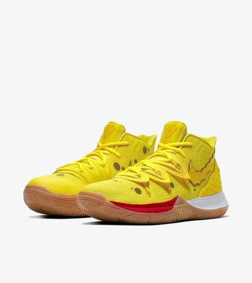 Tenis Nike Kyrie 5 Bob Esponja 100% Originales