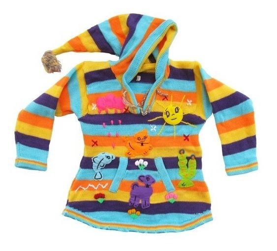 Sweater Norteño Alpino Niños 1 A 3 Años De Mamakolla