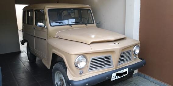 Rural Willys 66 Com Tração 4x4 E Reduzida