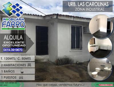 Alquile De Casa En La Zona Industrial Al01-0018zi-ac
