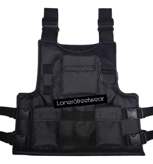 Chaleco Cargo, Chest Rig, Chaleco Trap, Streetwear