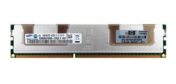 Memória Servidor Hp/dell 16gb Ddr3 4rx4 Pc3 8500r Samsung Co