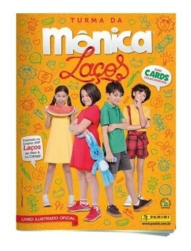 Álbum De Figurinhas Turma Da Mônica Laços