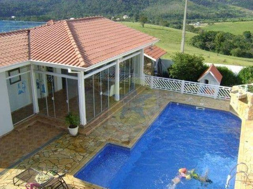 Casa Residencial À Venda, Condomínio Fechado Em Bom Jesus Dos Perdões - Ca0647. - Ca0647