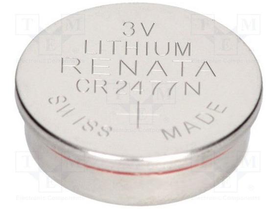 Pila Litio Renata 3v 47-cr2477n Battery Master