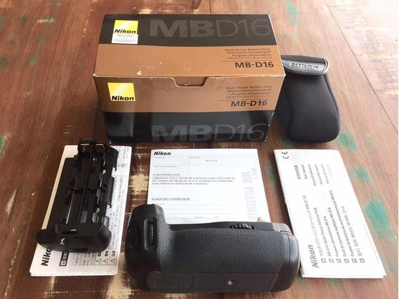 Grip De Bateria Nikon Mb-d16 Sem Uso