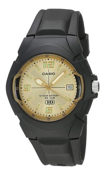 Casio Reloj Wr Bateria 10 Años Manecillas Mw-600f-9avcf