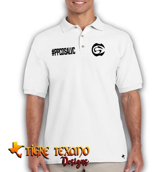 Playera Polo Cártel De Santa #ppcdsalvc Tigre Texano Designs