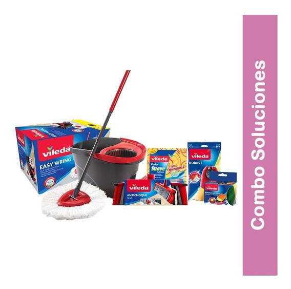 Kit Combo Soluciones Limpieza Cuidado Del Hogar Vileda