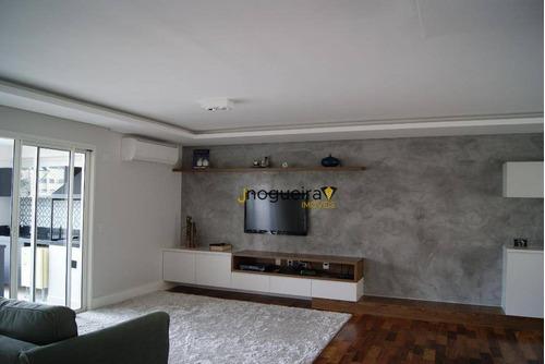 Apartamento Com 4 Dormitórios À Venda, 310 M² Por R$ 2.650.000,00 - Chácara Flora - São Paulo/sp - Ap14750
