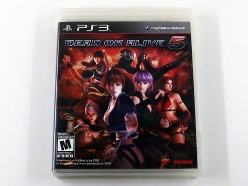 Imagem 1 de 5 de Dead Or Alive 5 Original Playstation 3 Ps3