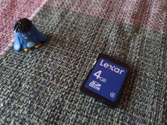 Cartão De Memória Sd D50 4gb Original Lexar