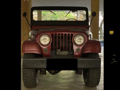 Jeep Willys 1965 6 Vc Original Documentado Só Passear