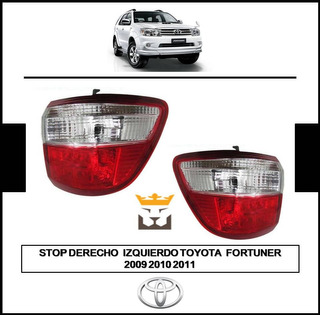 Stop Mica Externo Izquierdo Derecho Fortuner 2009 2010 2011