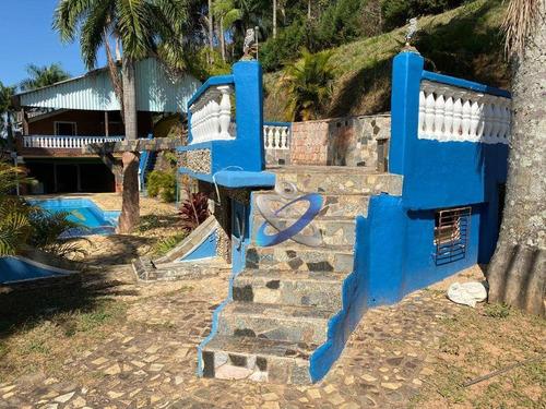 Imagem 1 de 30 de Chácara Com 3 Dormitórios À Venda, 16000 M² Por R$ 1.500.000,00 - Buquirinha Ii - São José Dos Campos/sp - Ch0089