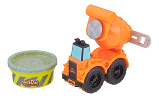 Mini Vehículo Mezcladora De Cemento Play-doh Wheels