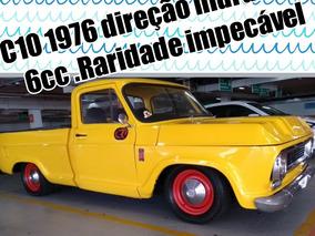 C10 1976 Com Direçao Hidraulica