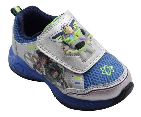 Zapatillas Toy Story Buzz Luz Disney Importadas Talle 26