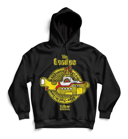 Hoodie Buzo Beatles Yellow Submarine Unisex Rock Activity