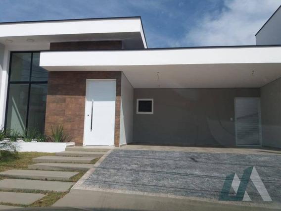 Casa Com 3 Dormitórios À Venda, 147 M² Por R$ 585.000,00 - Condomínio Village Milano - Sorocaba/sp - Ca0895